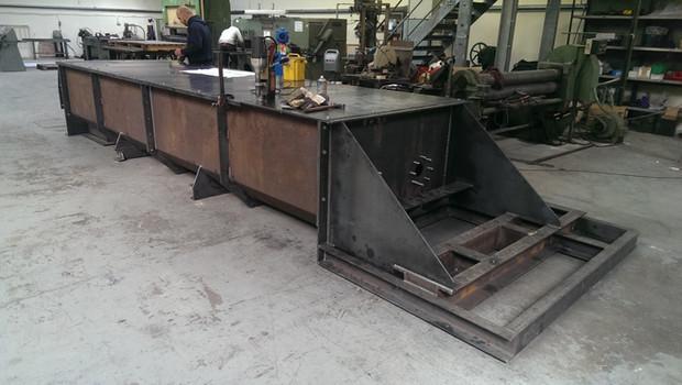 Hydromixer Screw Conveyor Heavy Fabrication