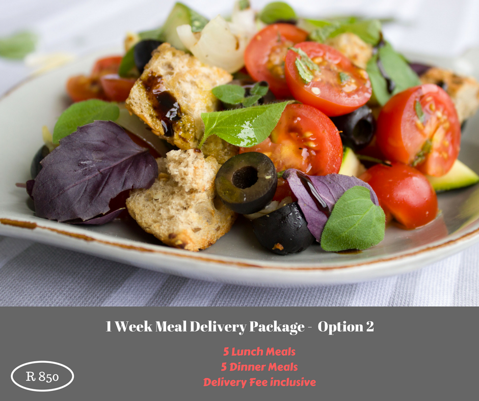 1 Week Meal Delivery Package - Option 2 - DANIEL FAST