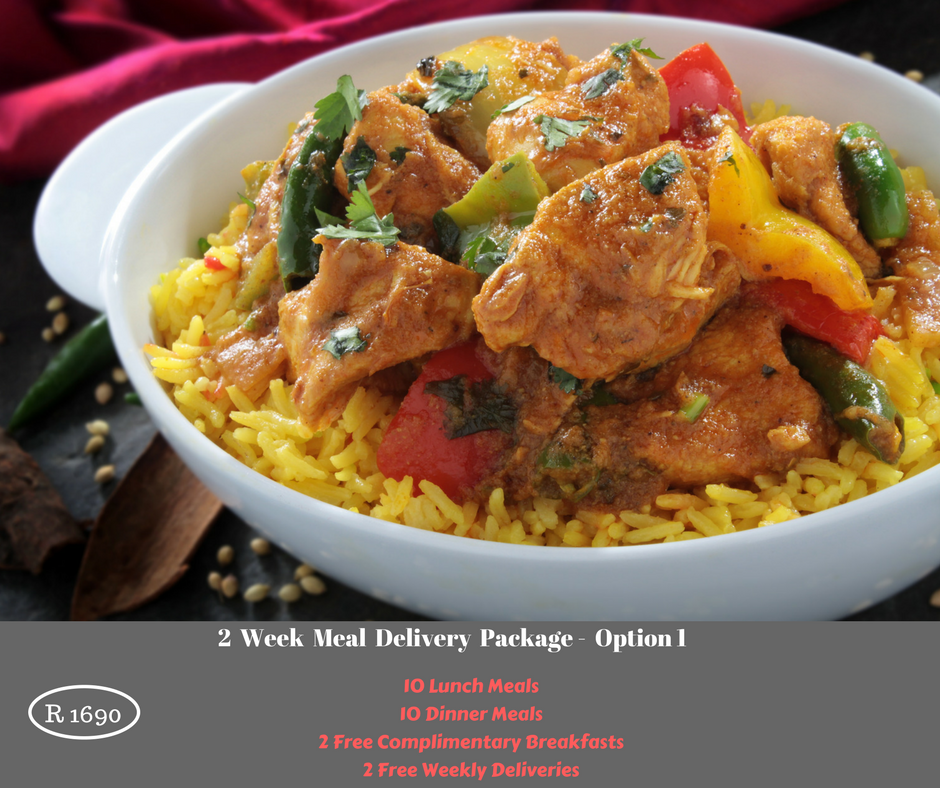 2 Week Meal Delivery Package - Option 1