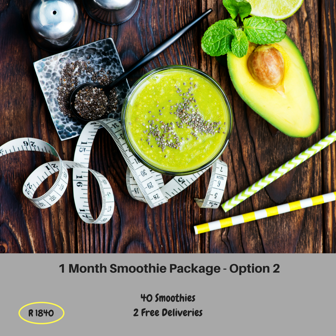 1 Month Smoothie Package - Option 2