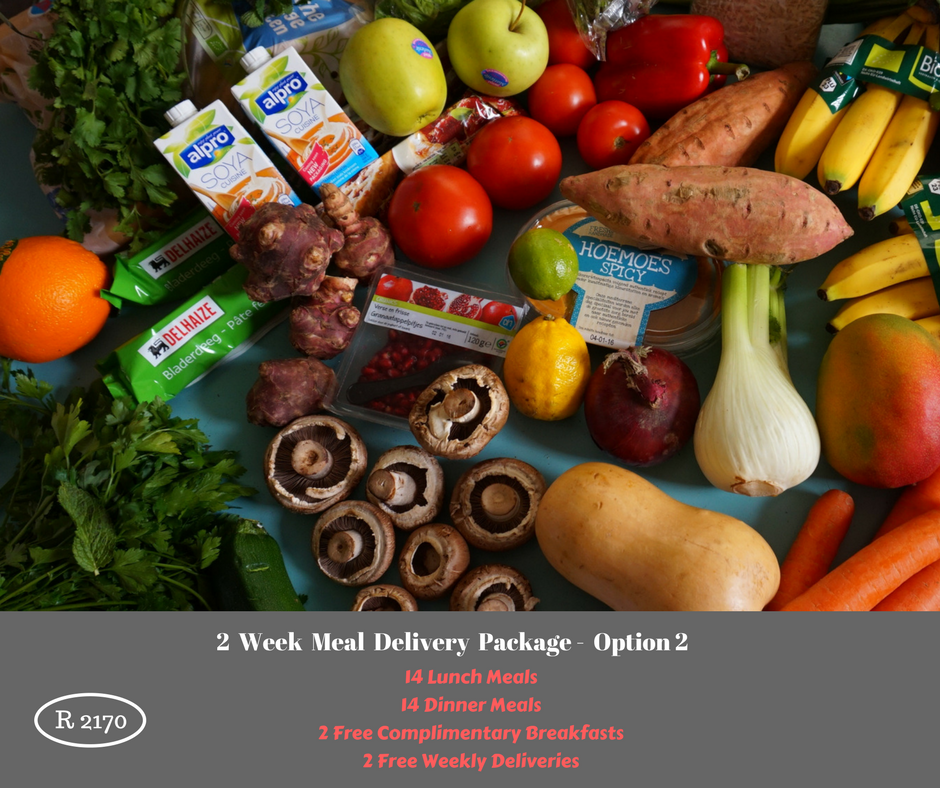 2 Week Meal Delivery Package - Option 2 - DANIEL FAST