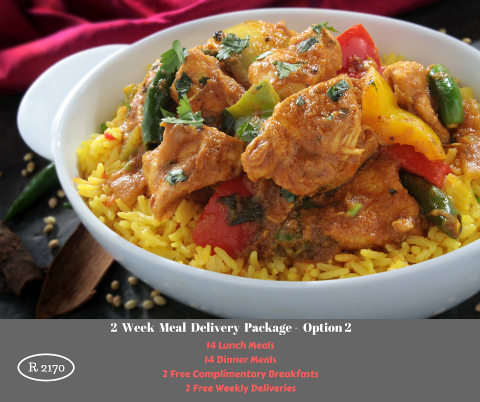 2 Week Meal Delivery Package - Option 2