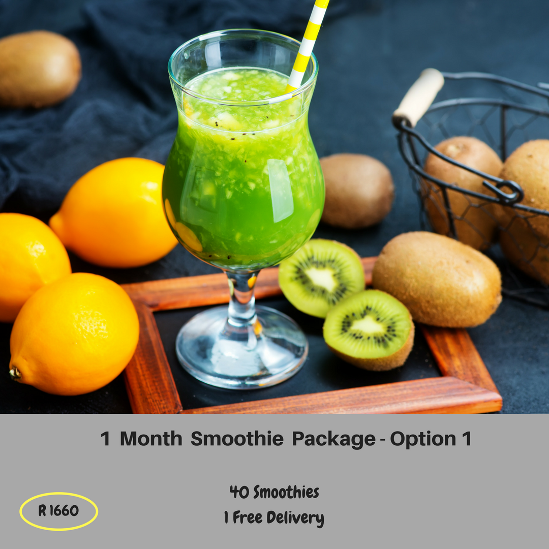 1 Month Smoothie Package - Option 1