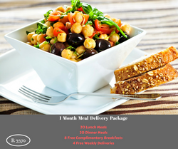1 Month Meal Delivery Package