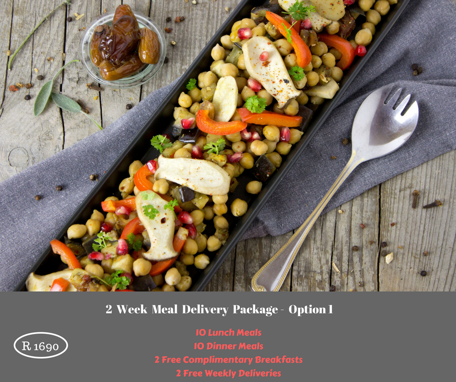 2 Week Meal Delivery Package - Option 1 - DANIEL FAST