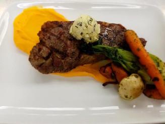 Shiso Jade Style Strip Steak