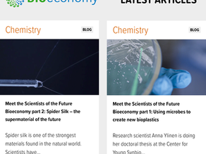 CYSS Scientists featured in a series on bioeconomy.fi