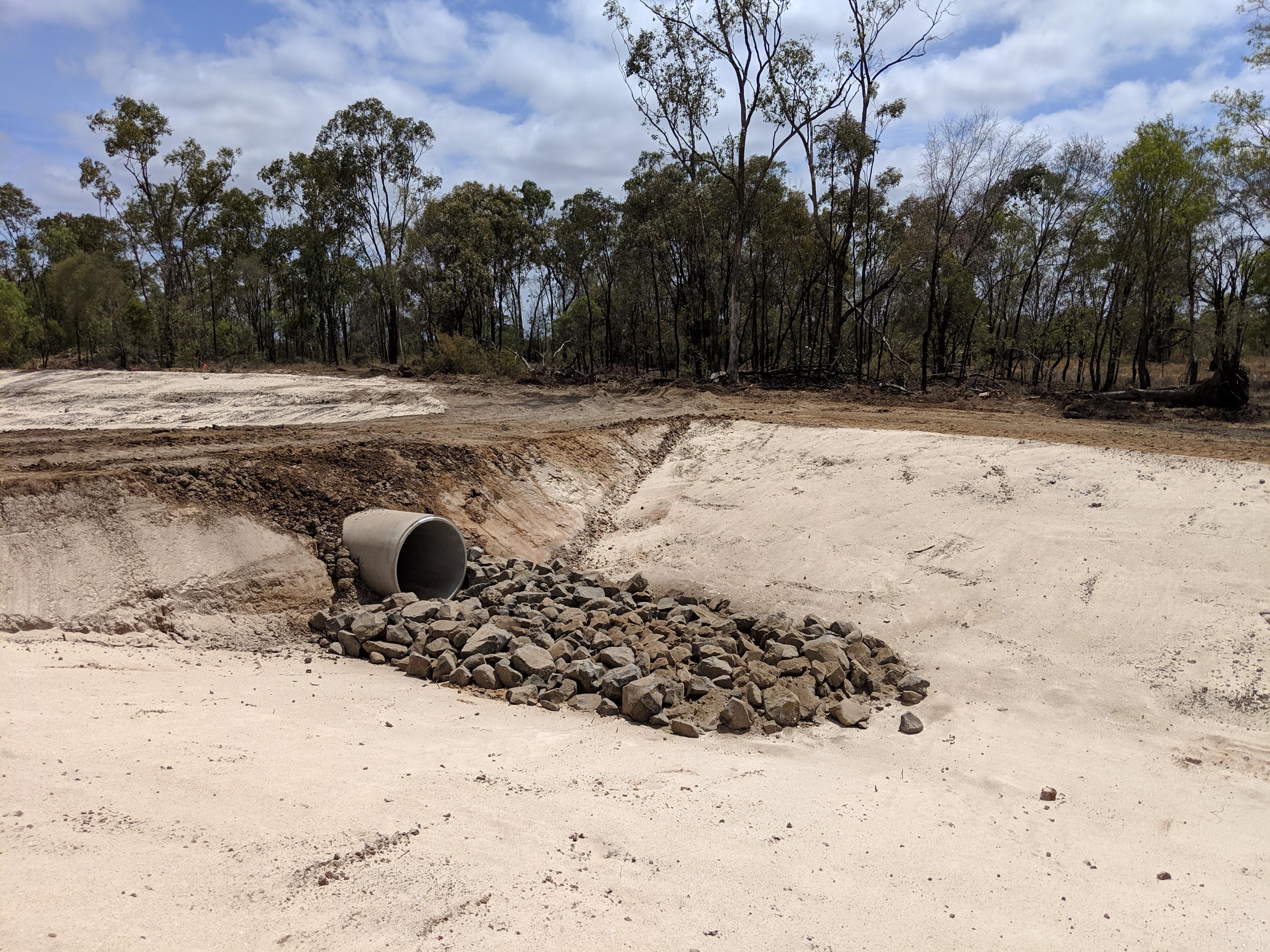 20181210_100935 - LW10 drain Gypsum spre