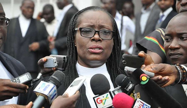 Image result for gloria akuffo in parliament