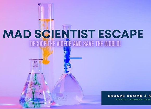 Thursdays: Fall After School Escape   ( Oct 22 - Nov 5; 3 Weeks)