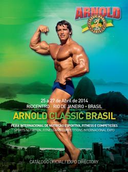 Arnold Classic Brasil - Capa Catalogo Oficial