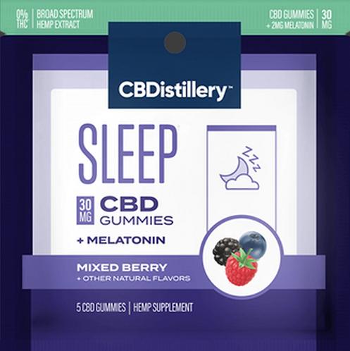 CBDISTILLERY - Travel Gummies Melatonin