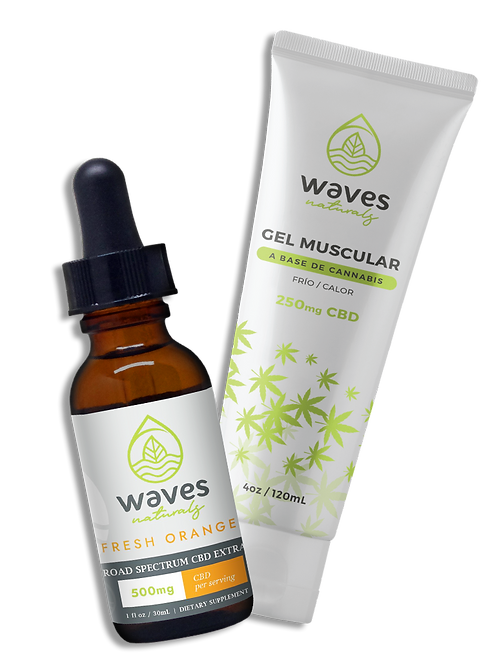 WAVES NATURALS - Combo Gym