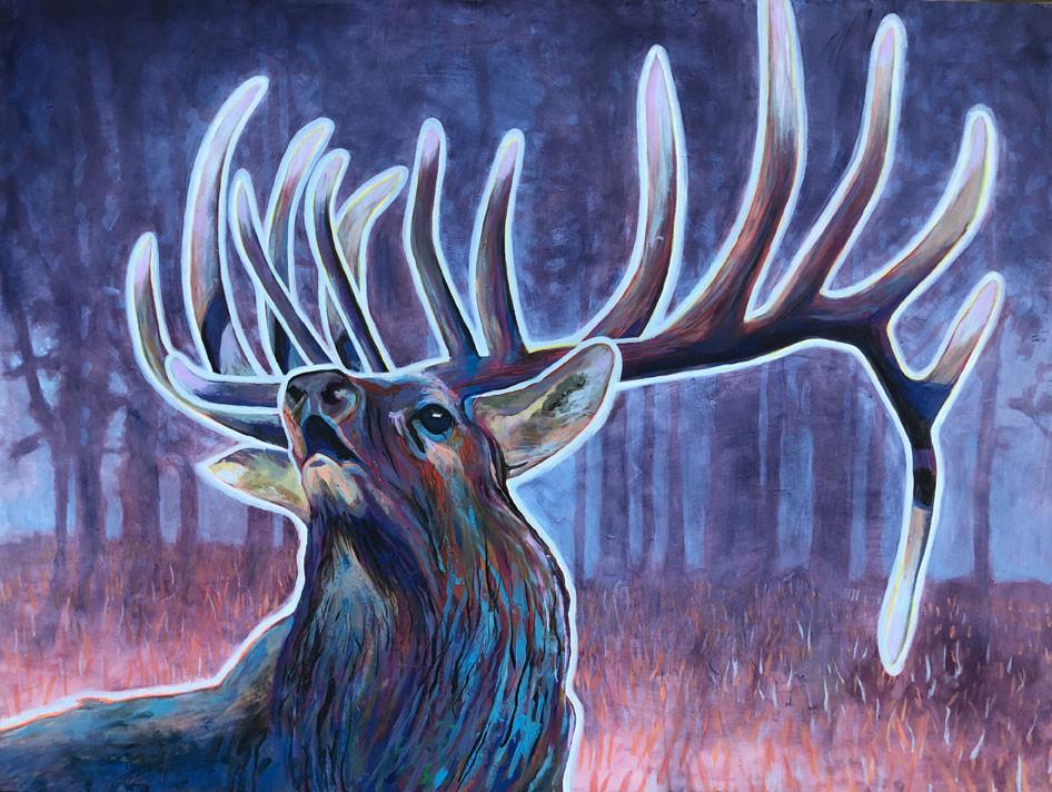 Dusk Elk, 2019