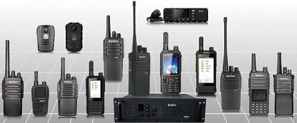 A selection of Network Radio transceivers