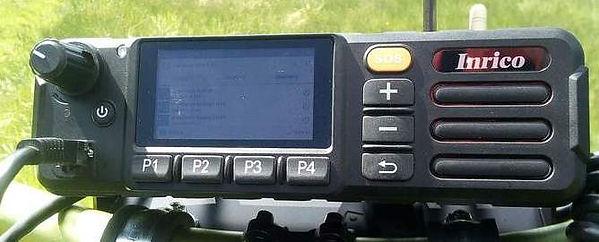 Inrico TM-7 network radio transceiver.