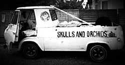 Skulls and Orchids Truck