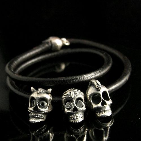 Sugar Skull Starter Bracelet