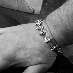 Skull and Bone Bracelet