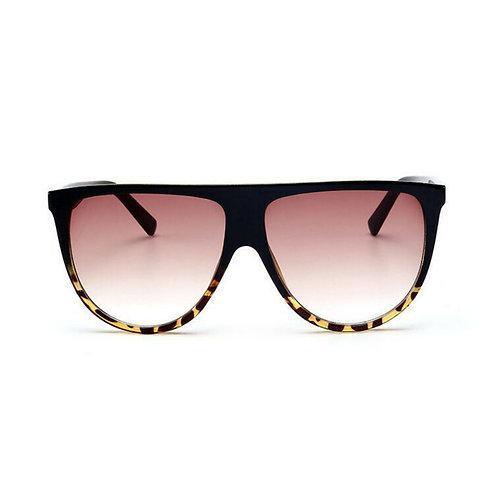 Flat top shadow sunglasses