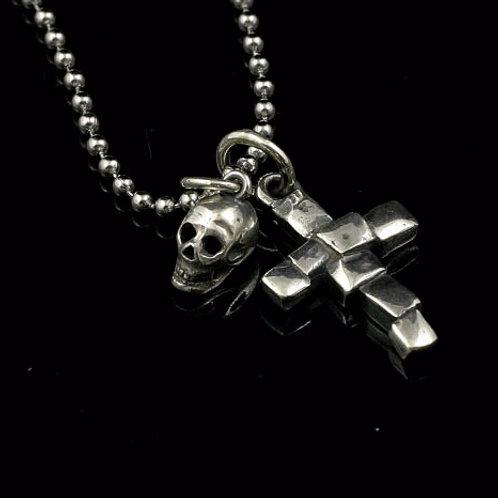 Skulpt Skull and Block Cross