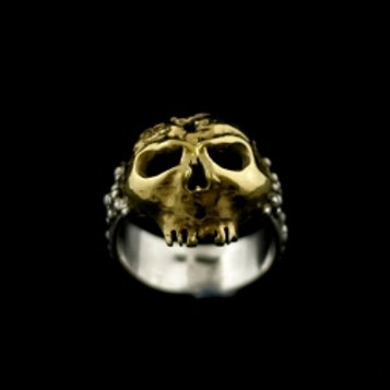 18ct Gold and Silver Celtic Warrior Ring