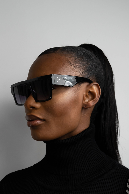 Black out block sunglasses