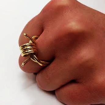 18 Carat White Gold Ring