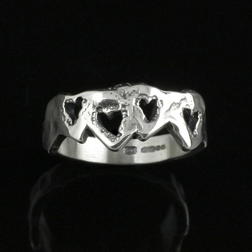 Molten Hearts Ring