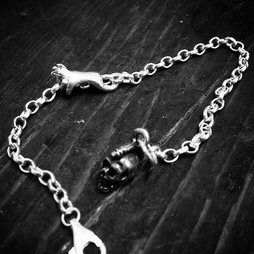 Mohawk Charm Bracelet