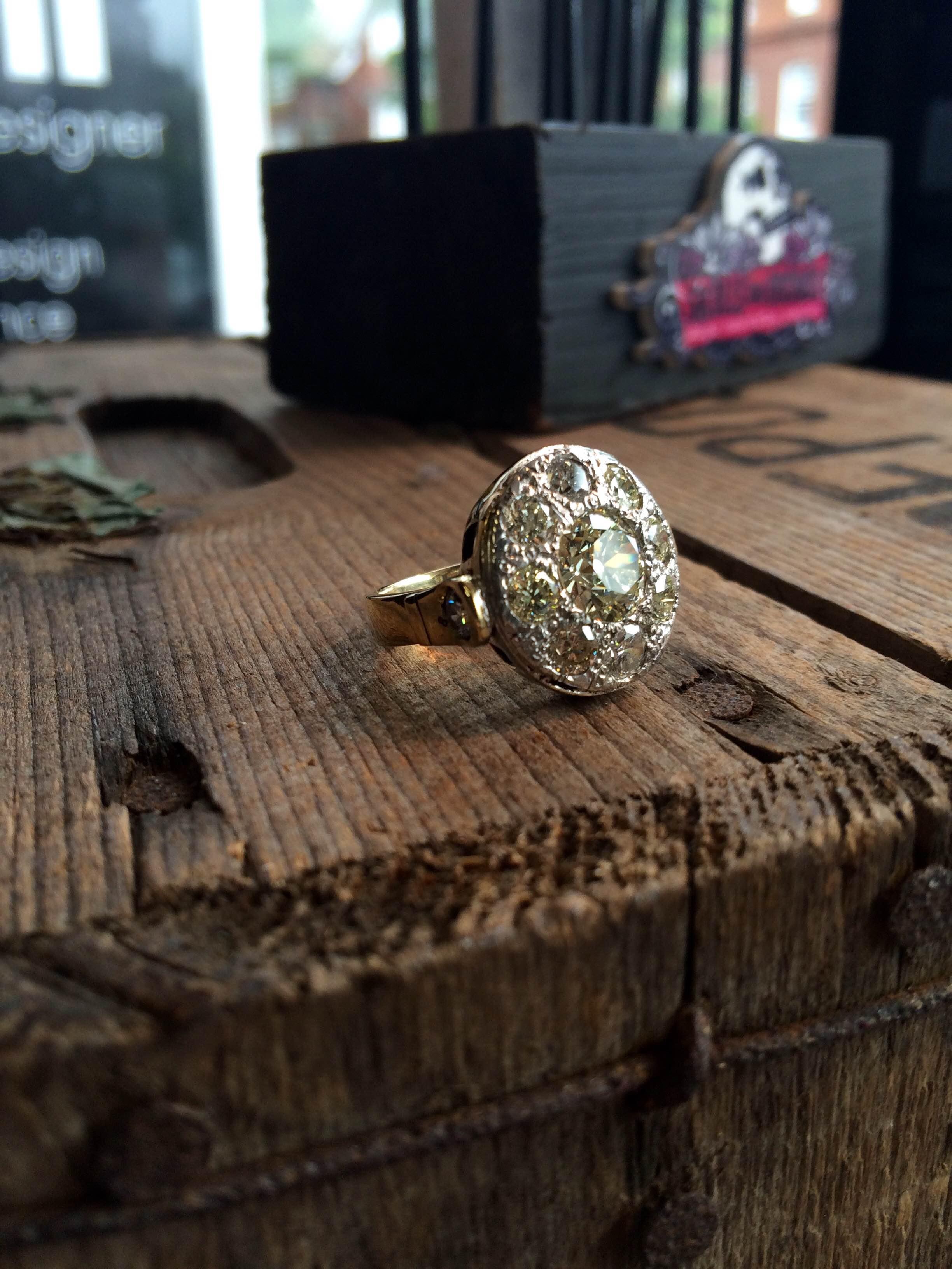 Four carat ring