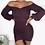 Thumbnail: Ruched bell sleeve mini dress
