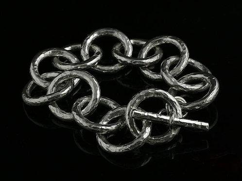 Heavy Planished Bracelet