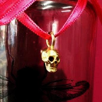 Gold Skulpt Skull Pendant