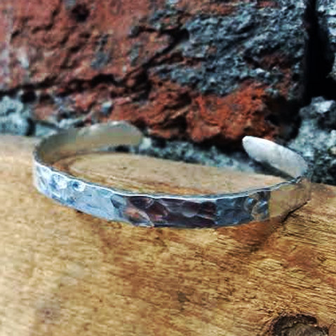 Handmade Planished Bangle