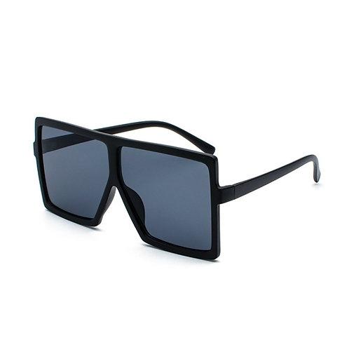 Matte oversized square sunglasses