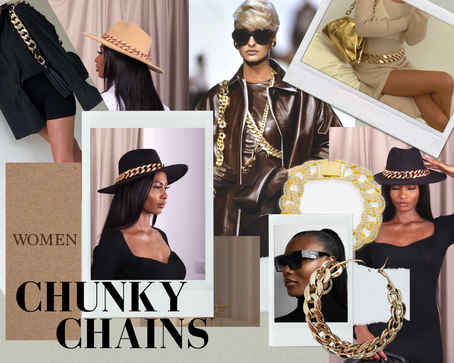 The chunkier the better - Chunky chain trend