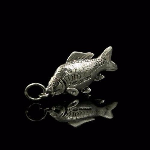 Silver Carp Pendant
