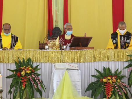 Seminari Tinggi Ledalero Rayakan Misa Syukur 145 Tahun SVD