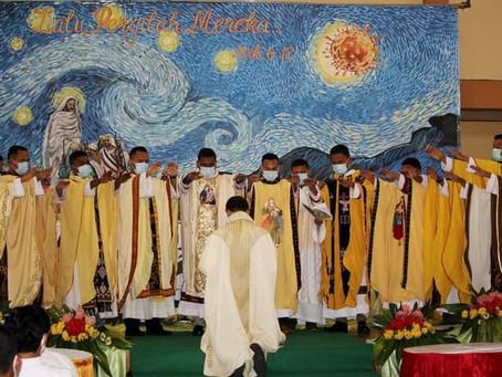 Profil 12 Imam SVD yang Ditahbiskan 3 Oktober 2020   (Bagian I)