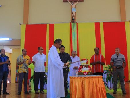 12 Imam SVD Rayakan Misa Syukur Imamat dan Kaul