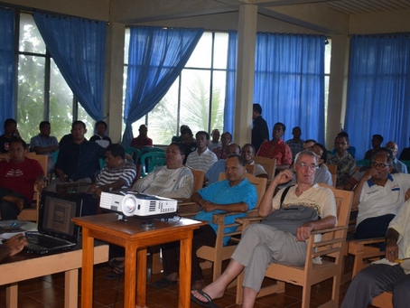 Komunitas Seminari Tinggi St. Paulus Ledalero Mengadakan Rekoleksi Bersama