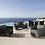 Thumbnail: Fotel Cane-line Daimond Langue chair grey 8502TXSG