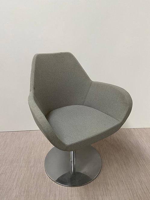 Fotel Profim Fan 10R Chrome base Grey seat
