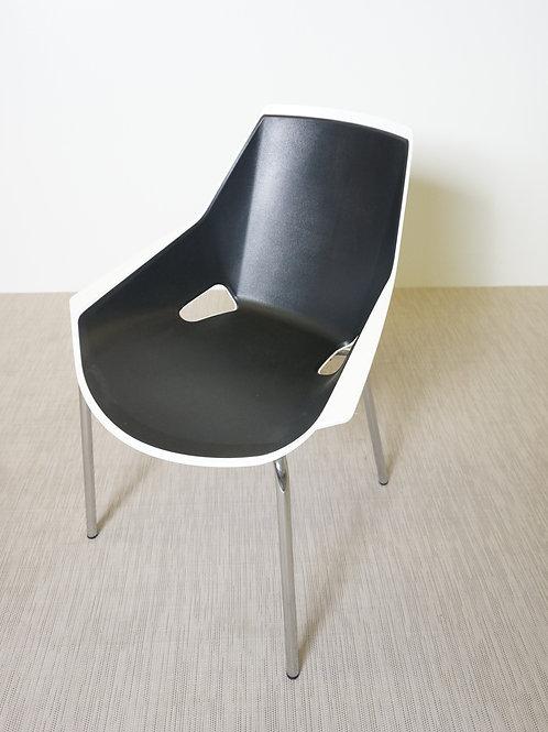 Krzesło Actiu Viva White Black