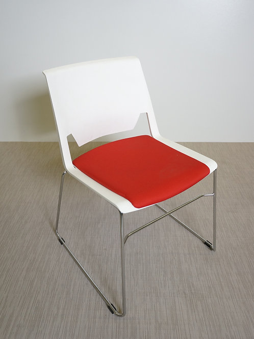 Krzesło Haworth Very Wire Stacker Chair Without Arms (red)