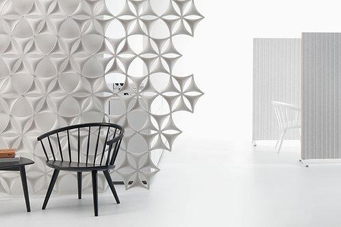 Elementy dekoracyjne, Airflake, blade open 360×400