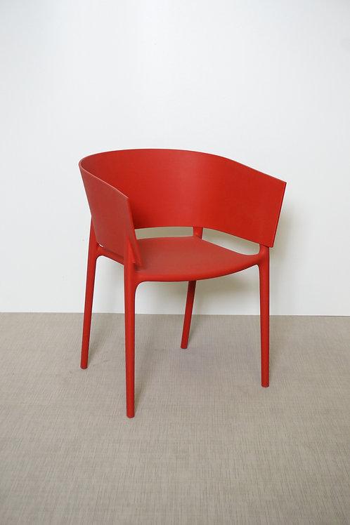 Krzesło Vondom Africa Red