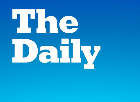 Me on the New York Times Daily podcast