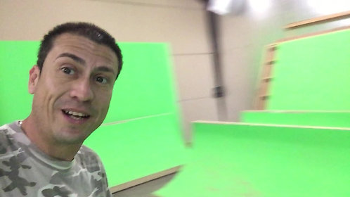 GREEN SCREEN RAMPS FULL BOWL CORNERS AND ALL